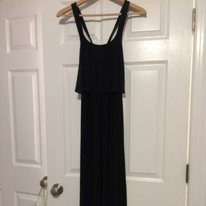 Soma Maxi Dress Black X back Small